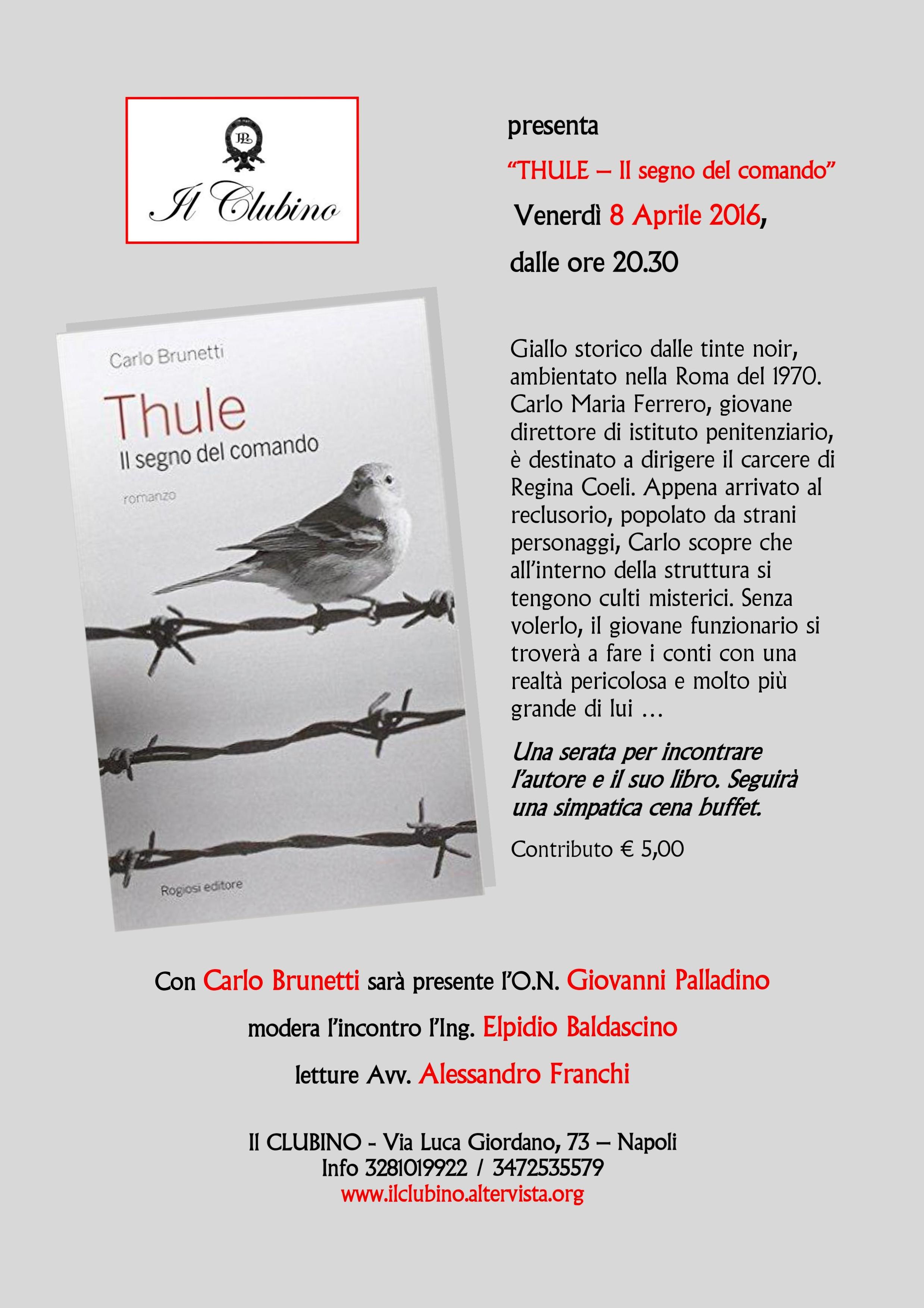 Locandina Thule - Il segno del comando (3)
